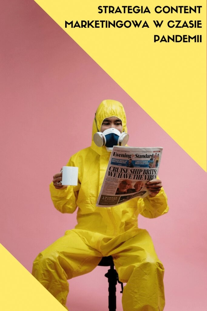 Strategia content marketingowa wczasie pandemii